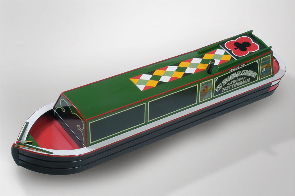 canal boat coffin