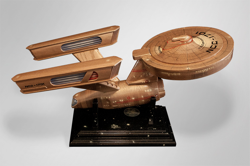 Starship Enterprise coffin