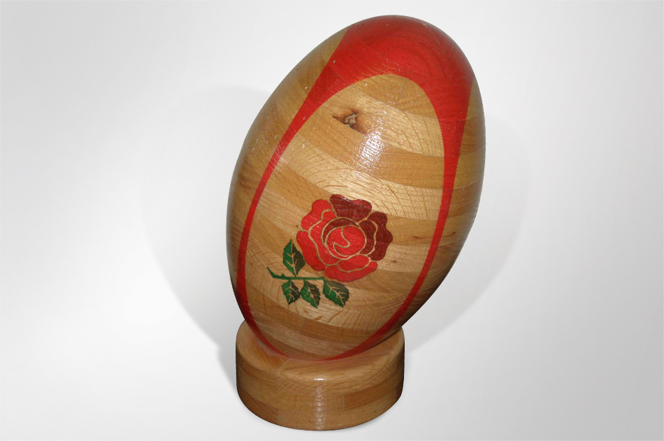 desperado & rugby ball urn