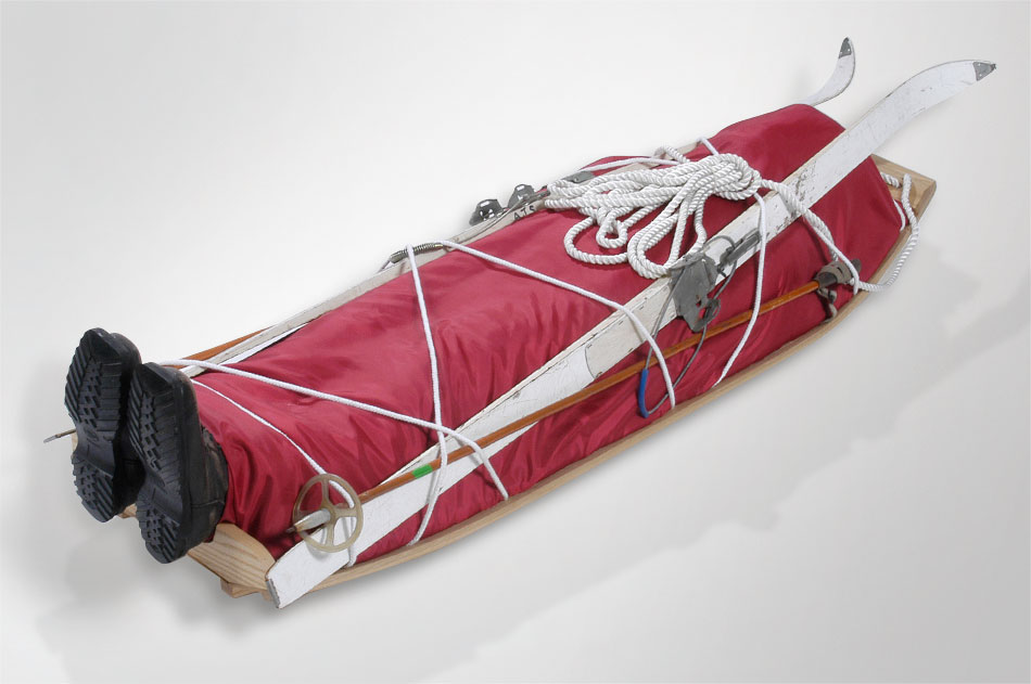 sled coffin